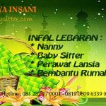 Baby Sitter Infal Dan Pembantu Infal Lebaran