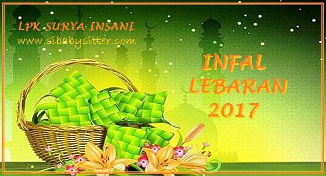 Baby Sitter Infal Lebaran Pembantu Infal Lebaran